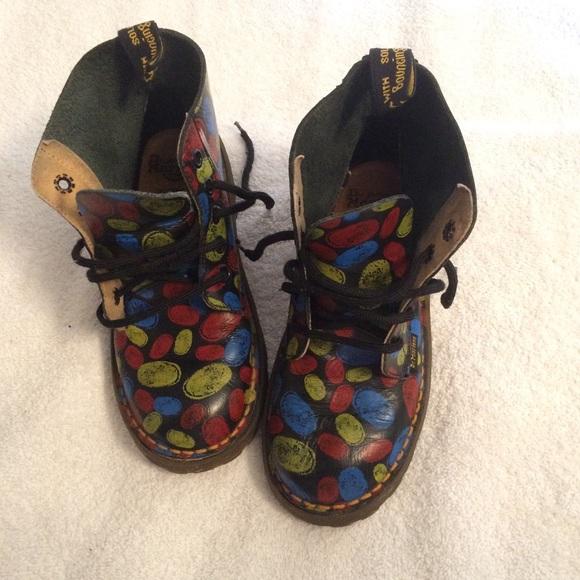 Dr. Martens Other - Rare Doc Marten Fingerprint boots